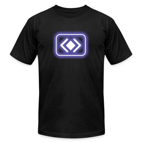 blur: Barge Power-up - Men's Fine Jersey T-Shirt