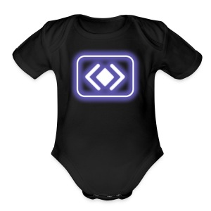 blur: Barge Power-up - Short Sleeve Baby Bodysuit
