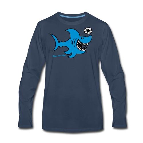 Shark Attacks - Men's Premium Long Sleeve T-Shirt