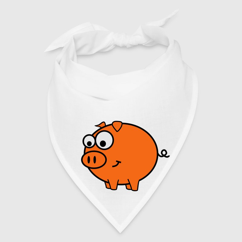 Red Pig Caps - Bandana