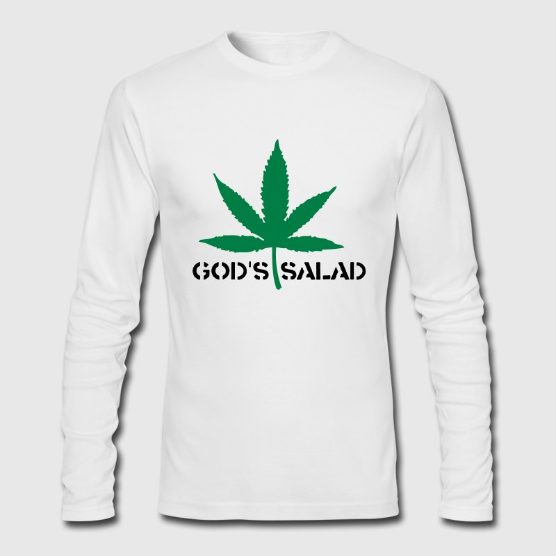 White God's Salad 2 (2c) Long Sleeve Shirts - Men's Long Sleeve T-Shirt by Next Level