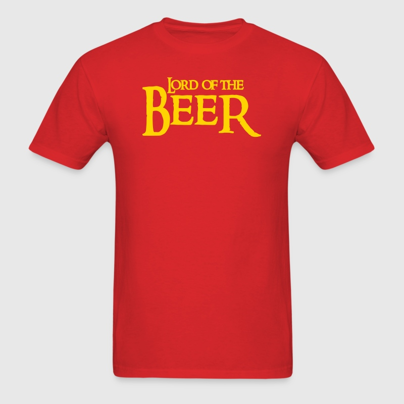 Red lord of the beer T-Shirts - Men's T-Shirt