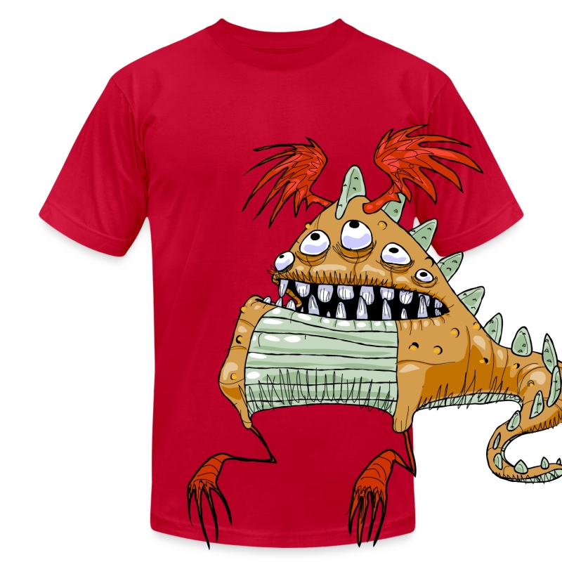 The Limpwristed Lurga - Men's T-Shirt by American Apparel