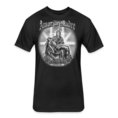R-104 Amor de Madre Men's Tee - Fitted Cotton/Poly T-Shirt by Next Level