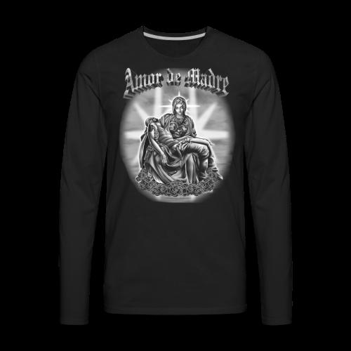 R-104 Amor de Madre Men's Tee - Men's Premium Long Sleeve T-Shirt