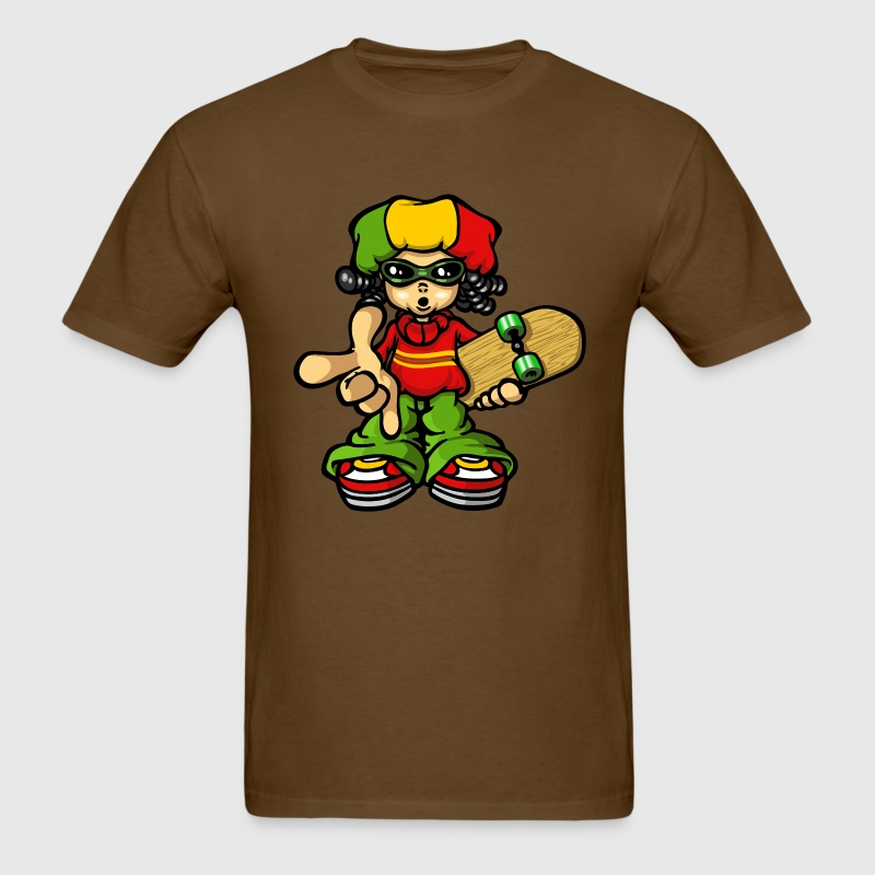 Reggae boy and skate T-Shirts - Men's T-Shirt
