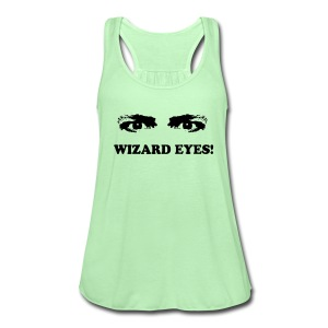 WIZARD EYES! - Women's Flowy Tank Top by Bella
