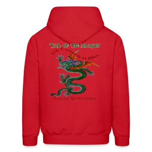 Tail Of The Dragon 4 Design T-Shirts - Men's Hoodie