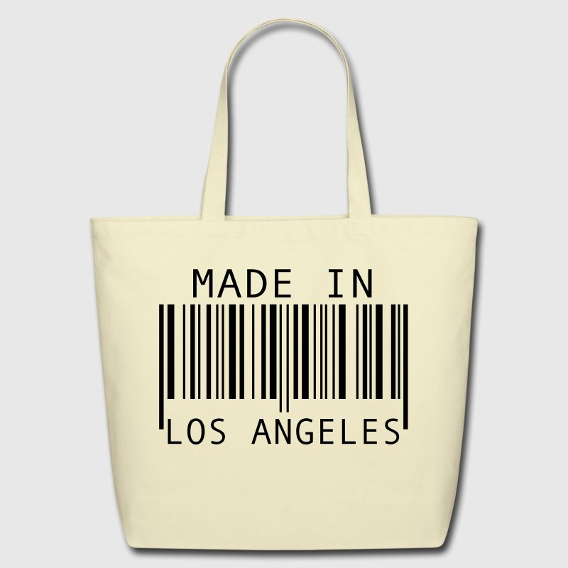 Creme Made in Los Angeles Bags  - Eco-Friendly Cotton Tote