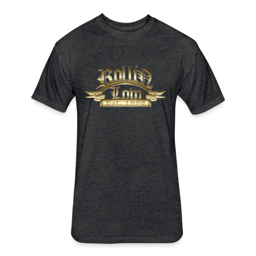 Rollin Low® Palque - Fitted Cotton/Poly T-Shirt by Next Level