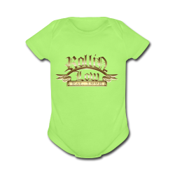 Rollin Low® Palque - Short Sleeve Baby Bodysuit