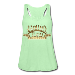 Rollin Low® Palque - Women's Flowy Tank Top by Bella
