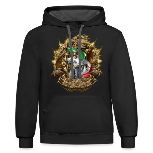 Cholo Collage - Contrast Hoodie