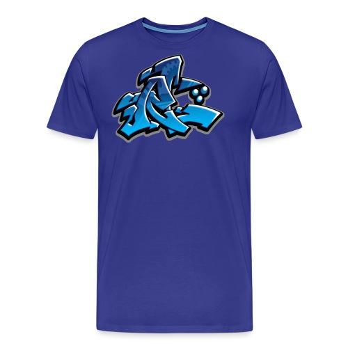 Graffiti Rollin Low - Men's Premium T-Shirt