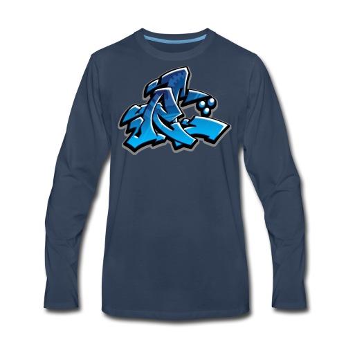 Graffiti Rollin Low - Men's Premium Long Sleeve T-Shirt