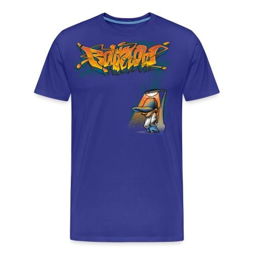 Rollin Low Street Lamp - Men's Premium T-Shirt