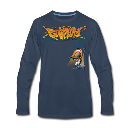Rollin Low Street Lamp - Men's Premium Long Sleeve T-Shirt