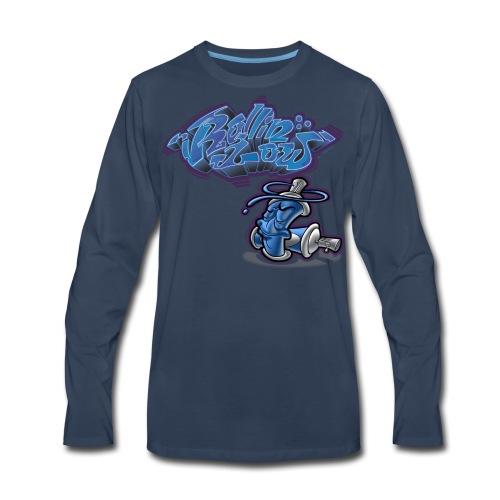 Cholo Collage - Men's Premium Long Sleeve T-Shirt