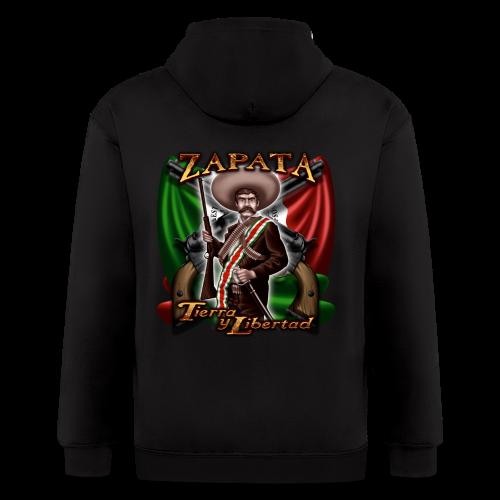 Zapata Flag - Men's Zip Hoodie