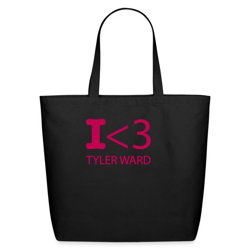 I heart Tyler Ward tote - Eco-Friendly Cotton Tote