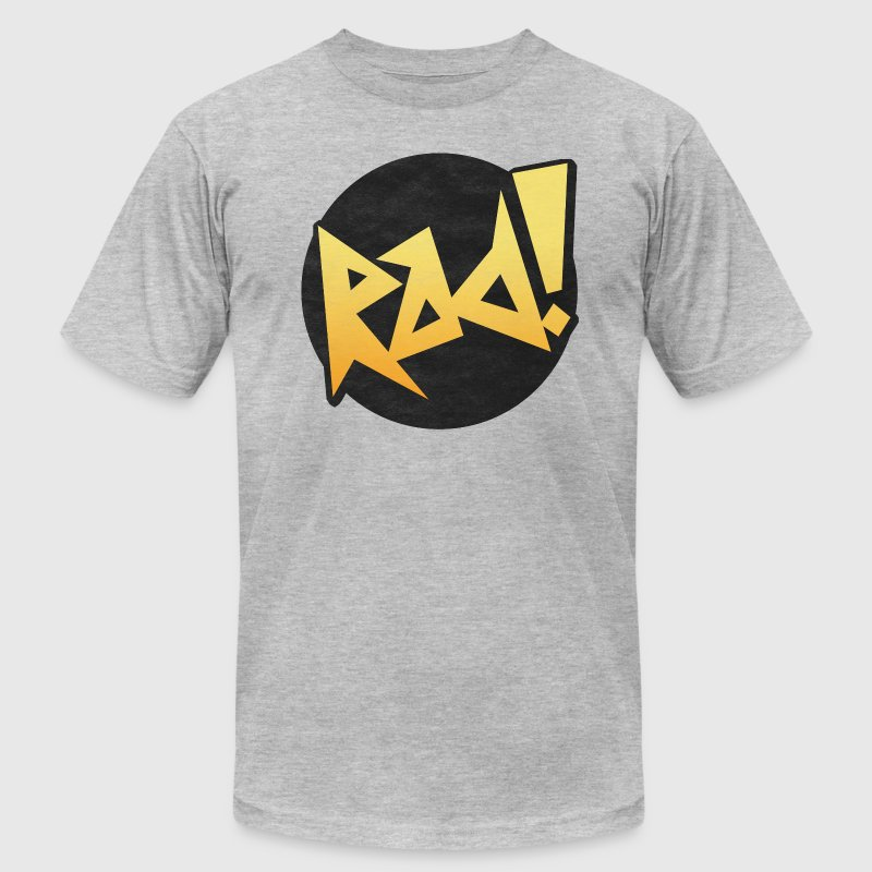80s Retro Rad Design T-Shirts - Men's T-Shirt by American Apparel