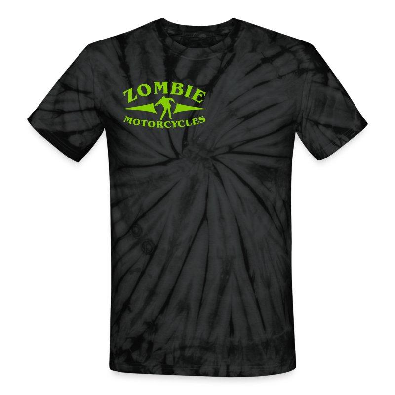 Zombie tie dye - Unisex Tie Dye T-Shirt