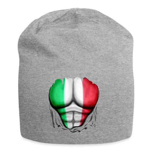 Mexico Flag Ripped Muscles, six pack, chest t-shirt - Jersey Beanie
