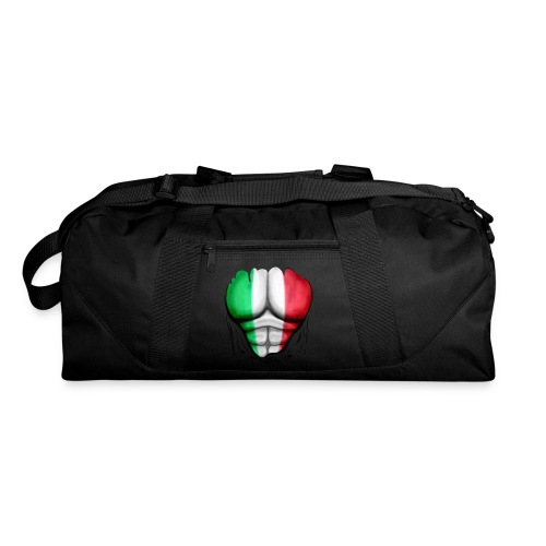 Mexico Flag Ripped Muscles, six pack, chest t-shirt - Duffel Bag