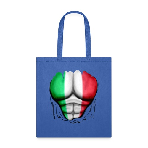 Mexico Flag Ripped Muscles, six pack, chest t-shirt - Tote Bag
