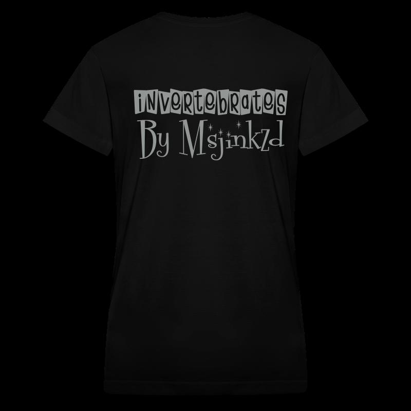 Msjinkzd: Women's Flock Print V Neck T - Women's V-Neck T-Shirt
