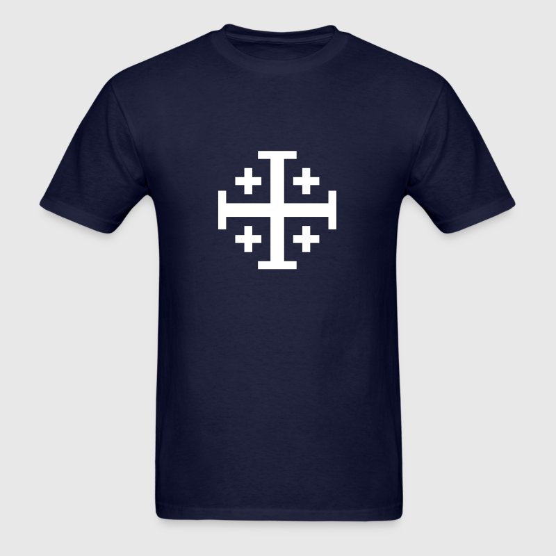 Jerusalem cross T-Shirts - Men's T-Shirt