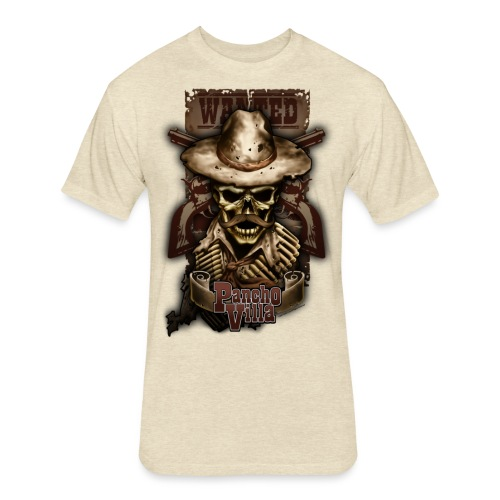 Villa Skull - Fitted Cotton/Poly T-Shirt by Next Level