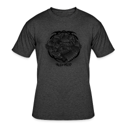 Tattoo Eagle - Men's 50/50 T-Shirt