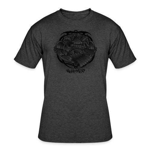 Tattoo Eagle - Men's 50/50 T-Shirt