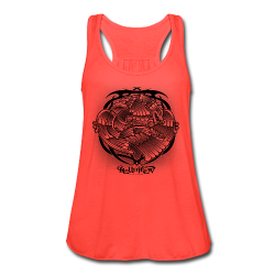Tattoo Eagle - Women's Flowy Tank Top by Bella