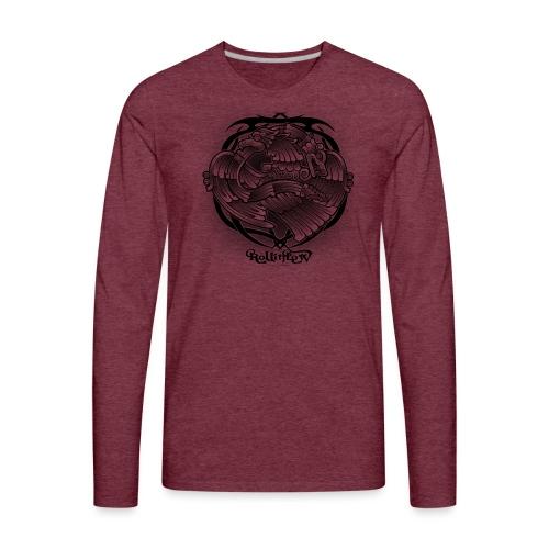 Tattoo Eagle - Men's Premium Long Sleeve T-Shirt