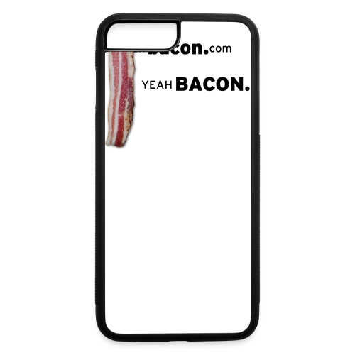 Yeah Bacon Tee (White) - iPhone 7 Plus/8 Plus Rubber Case