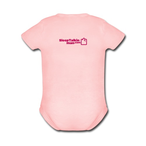 BABY GIRL: Handle With Care - Short Sleeve Baby Bodysuit
