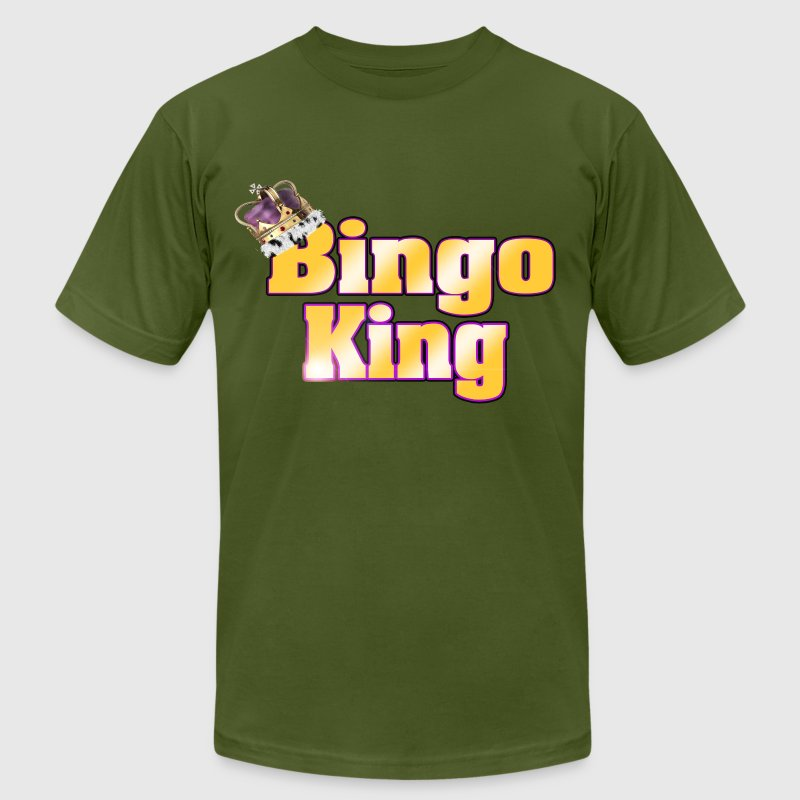 Bingo King T-Shirts - Men's T-Shirt by American Apparel