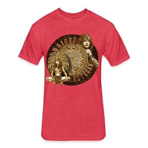 Raices Aztecas - Fitted Cotton/Poly T-Shirt by Next Level