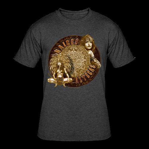 Raices Aztecas - Men's 50/50 T-Shirt