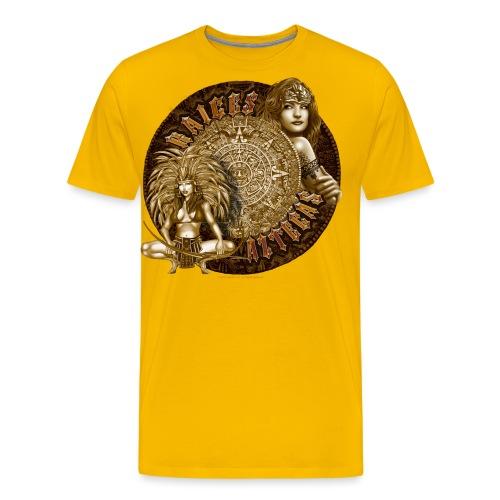 Raices Aztecas - Men's Premium T-Shirt