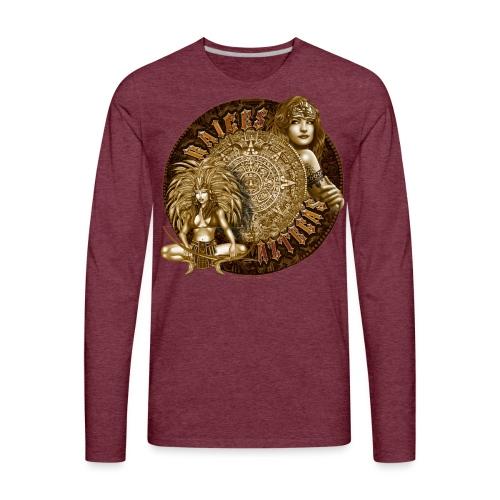 Raices Aztecas - Men's Premium Long Sleeve T-Shirt