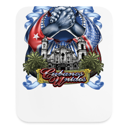 Cubano Unidos on WHT - Mouse pad Vertical