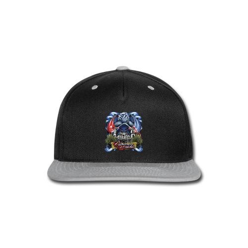 Cubano Unidos on WHT - Snap-back Baseball Cap