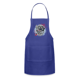 S-121 Dragon Tattoo Men's Tee - Adjustable Apron