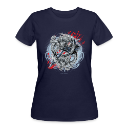 S-121 Dragon Tattoo Men's Tee - Women's 50/50 T-Shirt