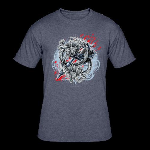 S-121 Dragon Tattoo Men's Tee - Men's 50/50 T-Shirt