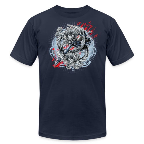 S-121 Dragon Tattoo Men's Tee - Men's Fine Jersey T-Shirt