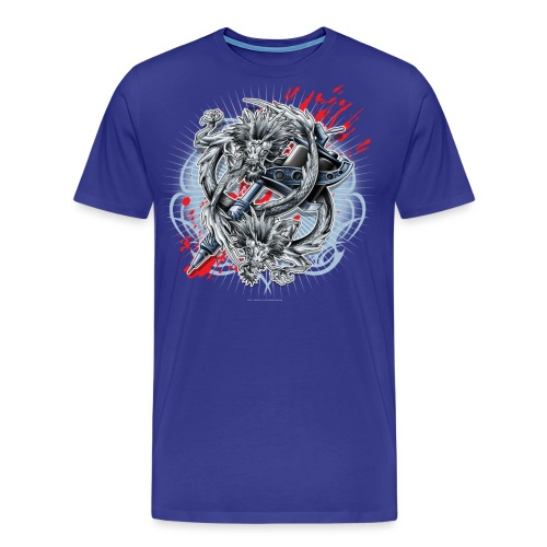 S-121 Dragon Tattoo Men's Tee - Men's Premium T-Shirt
